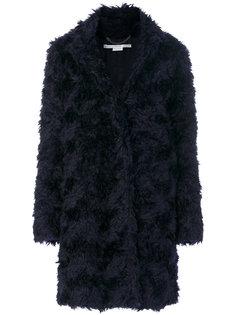 пальто с искусственным мехом  Stella McCartney