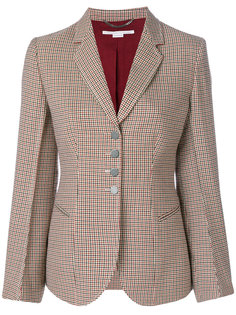 пиджак в ломаную клетку Stella McCartney