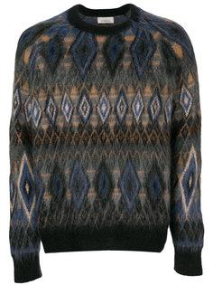 свитер с вышивкой Laneus