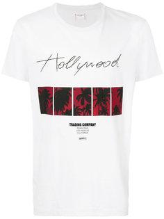 футболка с принтом-логотипом Htc Hollywood Trading Company