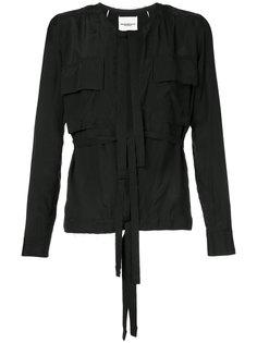 куртка с завязками Takahiromiyashita The Soloist