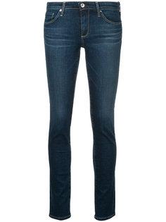 джинсы скинни с заниженной талией  Ag Jeans