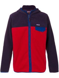 флисовая куртка с капюшоном Patagonia
