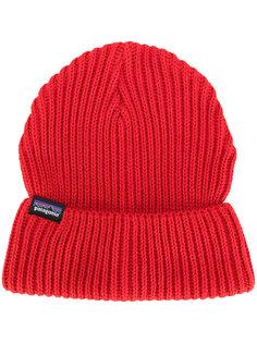 ребристая вязаная шапка Patagonia