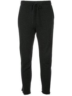брюки с необработанными манжетами  Forme Dexpression