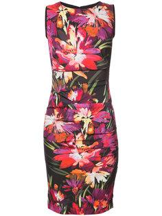 floral print dress Nicole Miller