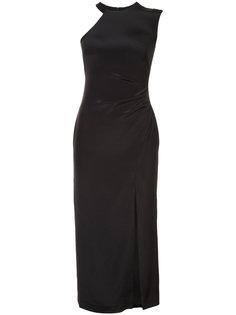 one shoulder dress Nicole Miller