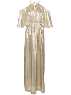 вечернее платье с металлическим отблеском Rachel Zoe
