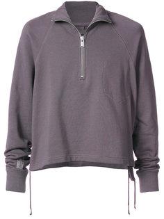 свитер с воротником на молнии Siki Im