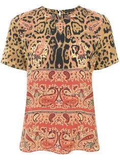 блузка с узором в стиле барокко  Etro