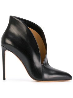 asymmetric upper stiletto pumps Francesco Russo