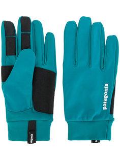 панельные перчатки с логотипом Patagonia