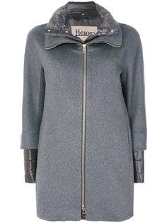 многослойное пальто  Herno