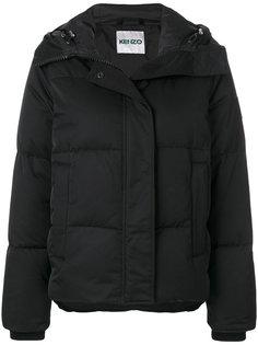 дутое пальто с капюшоном  Kenzo