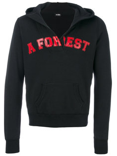 толстовка Forest с капюшоном Raf Simons