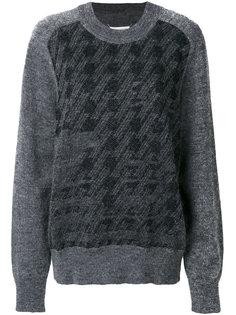 классический свитер с вышивкой  Maison Margiela