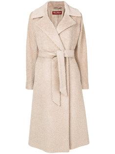 пальто с поясом Emerson Max Mara Studio
