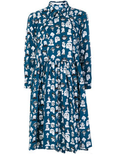 платье с принтом Muse Peter Jensen