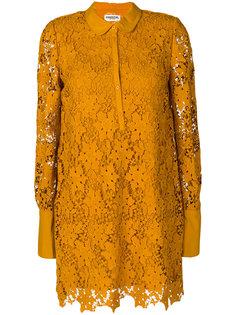 кружевное платье с вышивкой  Essentiel Antwerp