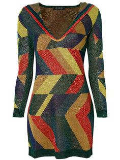 "платье дизайна ""колор-блок"" Twin-Set"