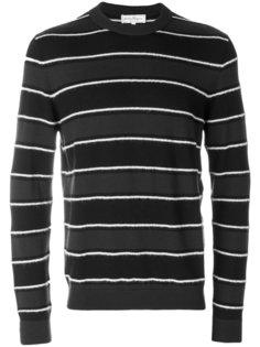 фактурный полосатый свитер Salvatore Ferragamo