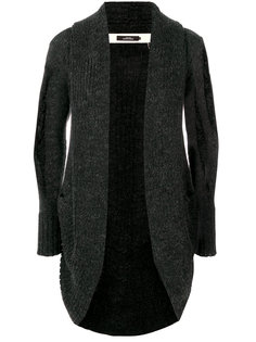 spherical shaped cardigan A New Cross
