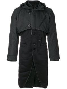 многослойное пальто Y-3