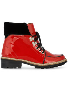 ботинки на плоской подошве Ganni