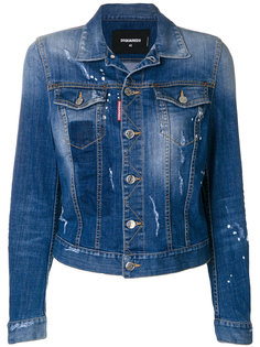 классическая джинсовая куртка Dsquared2