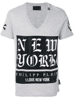 декорированная футболка Austin Philipp Plein