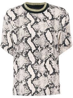 блузка с животным принтом  By Malene Birger