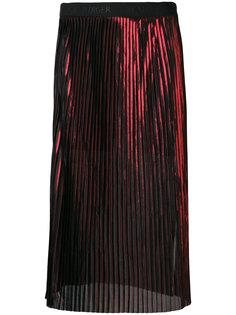 полупрозрачная плиссированная юбка миди  By Malene Birger