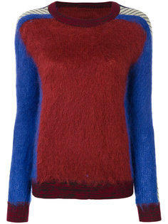 свитер колор блок  By Malene Birger
