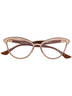 очки в оправе кошачий глаз Dita Eyewear