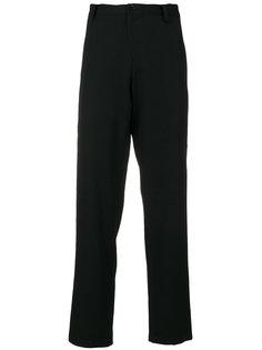 укороченные узкие брюки  Yohji Yamamoto