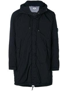 пальто-пуховик с капюшоном CP Company