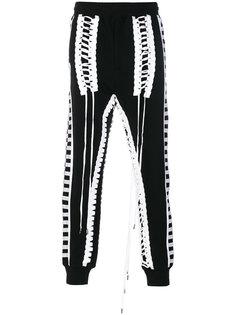 lace-up track pants KTZ