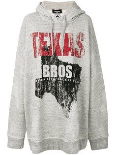 свободная толстовка Texas Bros Dsquared2
