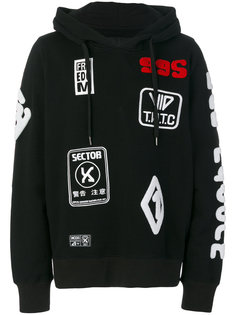patches hoodie  KTZ
