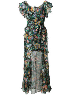 floral print ruffled dress Alice Mccall