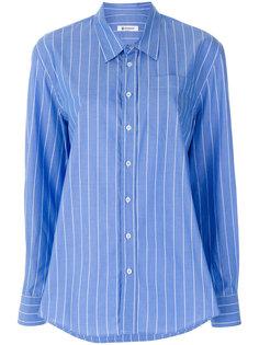 приталенная рубашка в полоску  Dondup