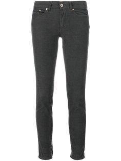 джинсы скинни с заниженной талией  Dondup