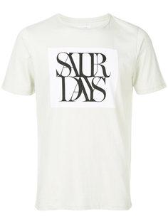 футболка с графическим принтом Saturdays Nyc