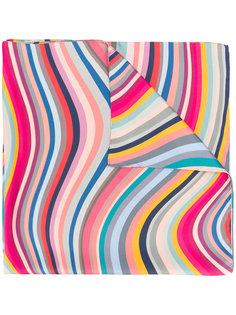 шарф с волнистым принтом Paul Smith