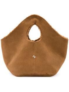 сумка с меховой подкладкой Astraet