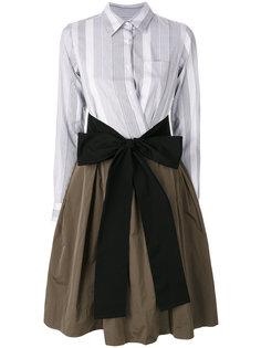 платье-рубашка с бантом  Sara Roka