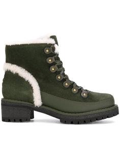ботинки на овечьей шерсти Tory Burch
