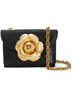 сумка Gardenia с крупным цветком Oscar de la Renta