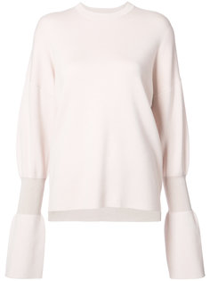 flared sleeve top Tibi