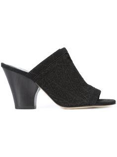 low heel mules Zero + Maria Cornejo